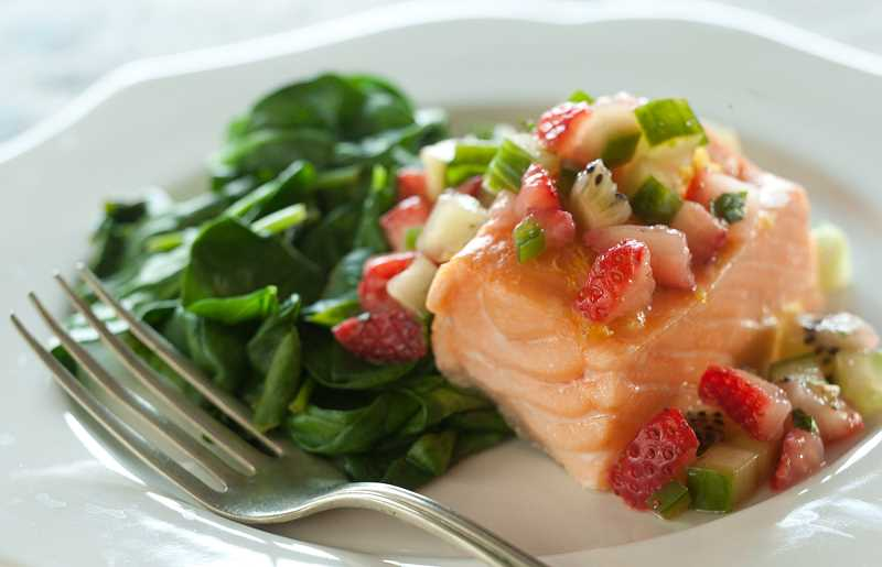 Get the facts about farmed salmon.