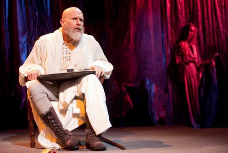 by: COURTESY PHOTO: BAG&BAGGAGE PRODUCTIONS - Father Kevin Connell, cast as King Lear in Hillsboro-based Bag&Baggage Production's 'Lear,' suffered a stroke early Monday and will not be able to finish the plays run this weekend.