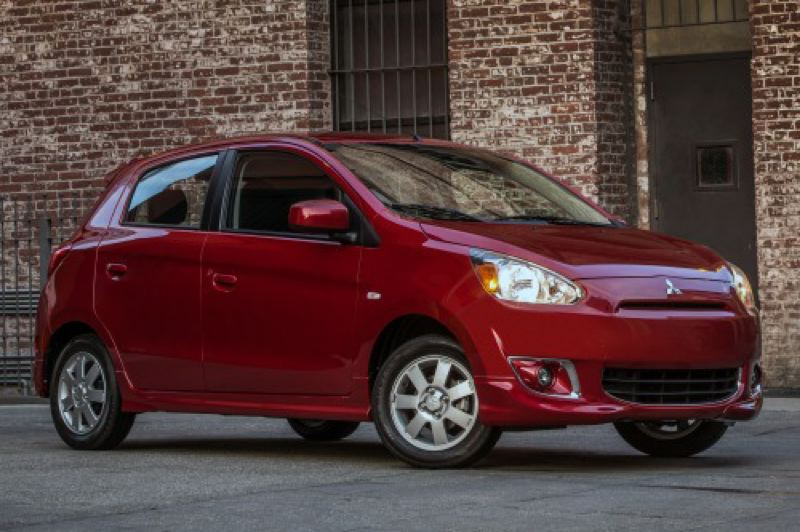 by: MITSUBISHI MOTOR SALES OF AMERICA - Mitsubishi returns to its roots with the 2014 Mirage, the company's first new subcomapct is years.