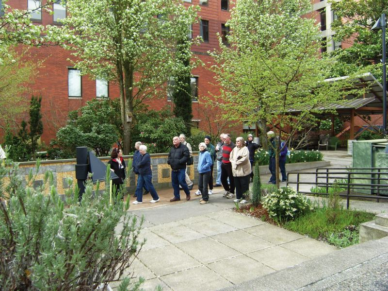 by: CONTRIBUTED PHOTO - The walks start from Legacy Good Samaritan Medical Center after the Stenzel Garden tour.