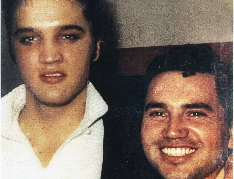 by: CONTRIBUTED PHOTO - Elvis Presley befriended Grayzell after seeing him perform at a supermarket opening in Texas. Even after they went their separate ways, the two musicians occasionally spoke to each other almost up until Presleys death in 1977.