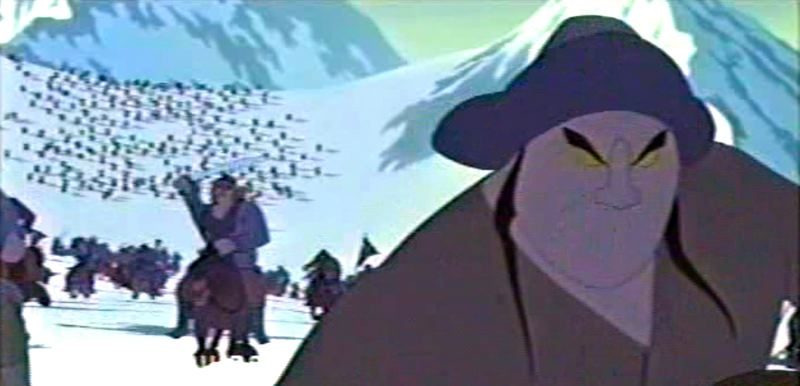 by: CONTRIBUTED PHOTO - Rob Bekuhrs supervised the computer animation on Mulan, which won an Annie award for Best Animated Feature. This picture is a test scene from the popular movie.