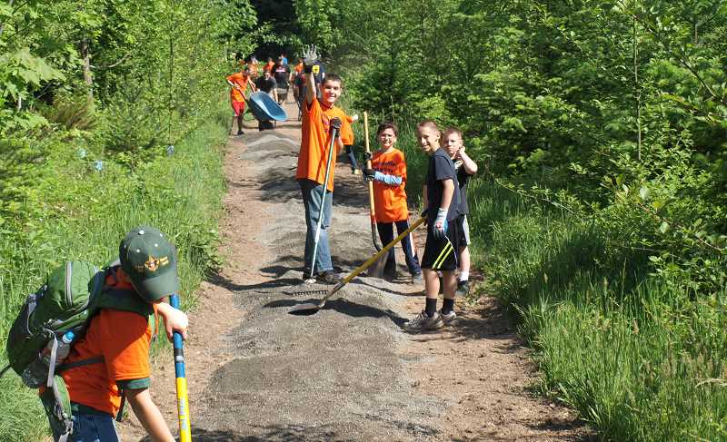by: SUBMITTED PHOTO - On May 10, volunteers of all ages will be gathering at the Wilsonville Community Center for the 14th annual WERK Day.
