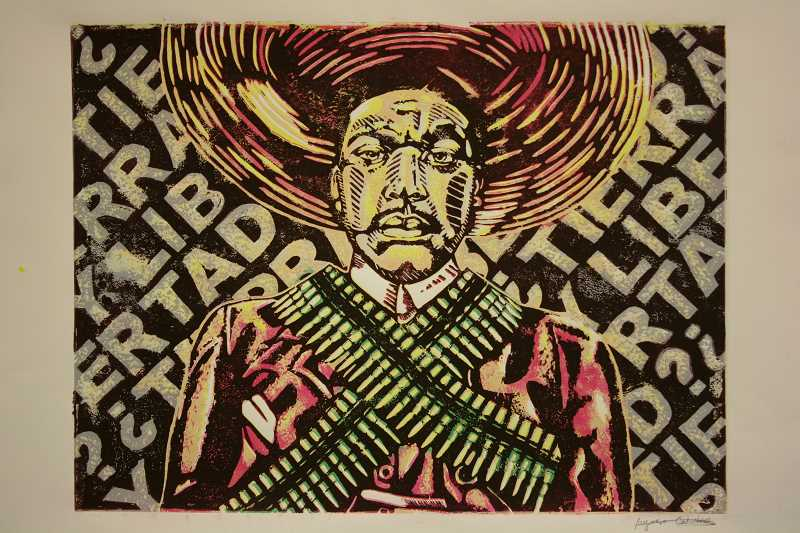 by: SUBMITTED - Alfonso Calixtro's 'Self Portrait as Zapata'