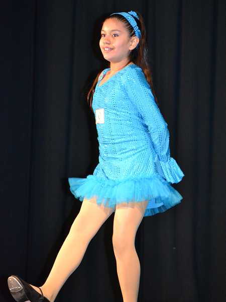 by: CINDY FAMA - A young tap dancer was one of many talented students to perform in Colton Elementary School's Stars on Stage last week