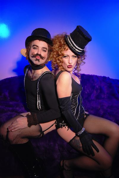 by: COURTESY OF UMBRELLA FESTIVAL - The Wanderlust Circus, which includes  acrobatic burlesque duo Trixie Little and The Evil Hate Monkey, is a highlight of the growing Umbrella Festival at Alberta Rose Theatre.