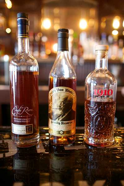 by: TIMES PHOTO: JAIME VALDEZ - A variety of whiskey will be served at Bootlegger's Whiskey Bar in downtown Beaverton.