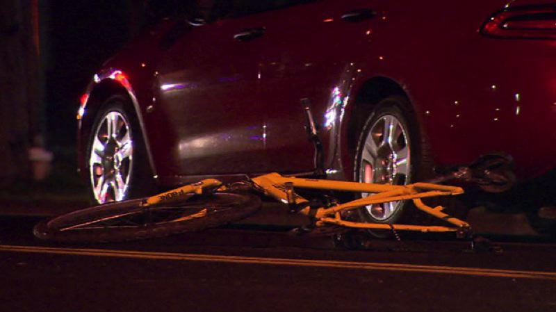 by: KOIN NEWS 6 - One man was injured after his bike ran into a car in Northeast Portland.