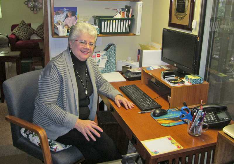 by: BARBARA SHERMAN - IF A RESOURCE EXISTS, SHE CAN FIND IT - Sally Stuart, sitting in the office of her Summerfield home, has written numerous religious books and also has become the go-to resource expert for fellow Christian writers.