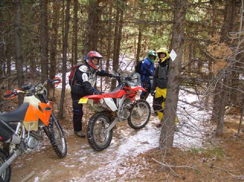 by: CONTRIBUTED PHOTOS - About 130 miles of new trails on Ochoco National Forest are part of the new plan that will accommodate motorcycles and other all terrain vehicles.