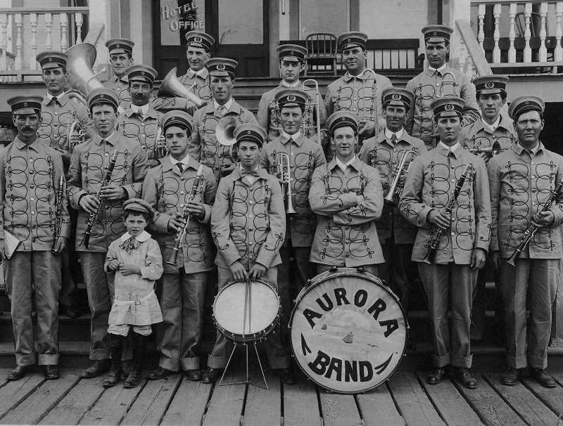 by: SUBMITTED - The Aurora Colony Band of the late 19th and early 20th centuries played at various events around the state.