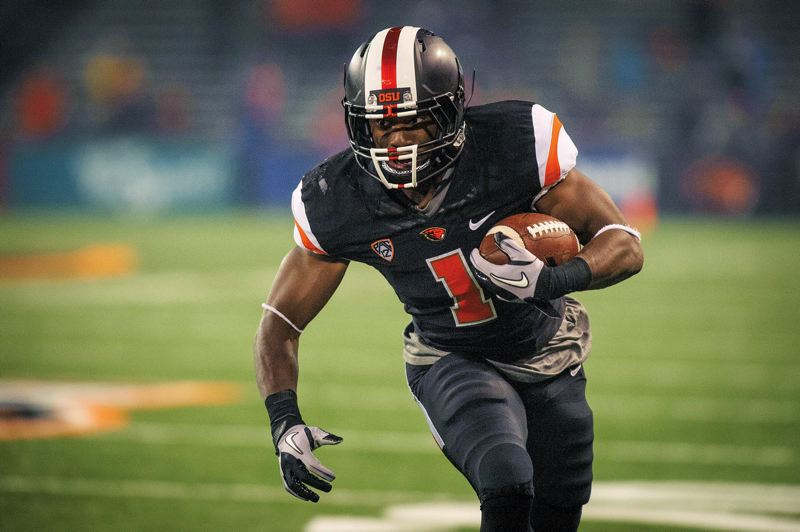 by: COURTESY OF KARL MAASDAM - Oregon State running back Chris Brown will get a serious look at future playing time during the Beavers spring camp.