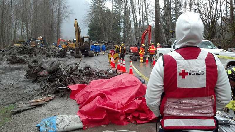 by: AMERICAN RED CROSS - Red Cross Division Disaster State Relations Director Denise Everhart was among the first responders at the Oso, Wash. tragedy.