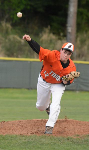 by: JOHN WILLIAM HOWARD - Senior pitcher Will Sprute struck out five batters and walked one, allowing four hits in the victory for Scappoose.