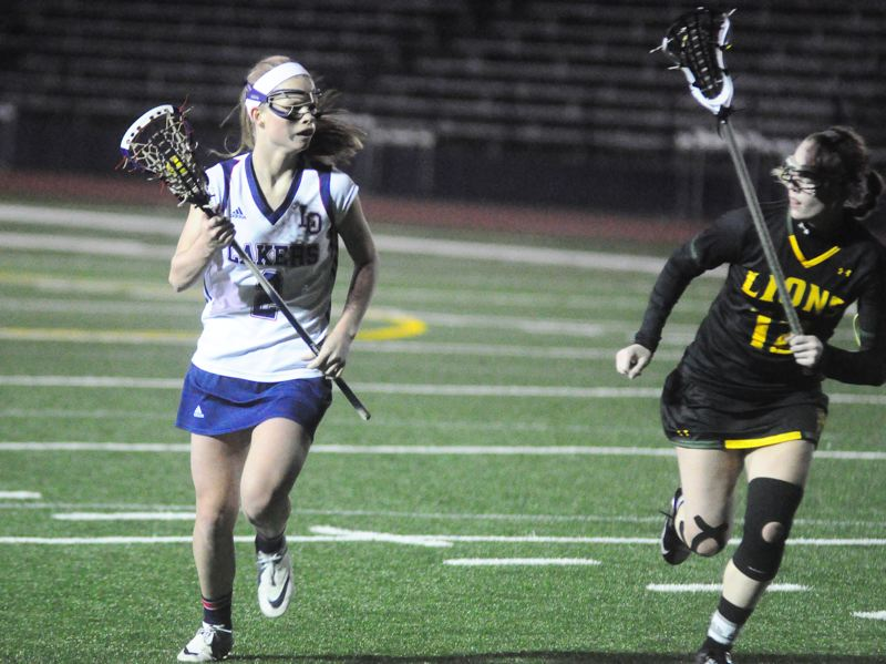 by: MATTHEW SHERMAN - Lexi Cheetham returns to the Lake Oswego girls lacrosse team this year and will be a versatile player at both midfield and attack.