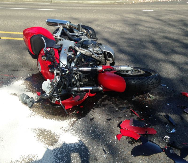 by: BEAVERTON POLICE DEPARTMENT - A motorcycle driven by Adam Jarman, 35, of Beaverton, crashed into the rear of a vehicle on Monday morning and propelled Jarman to the pavement, where he was struck by another vehicle. He was pronounced dead at the scene.