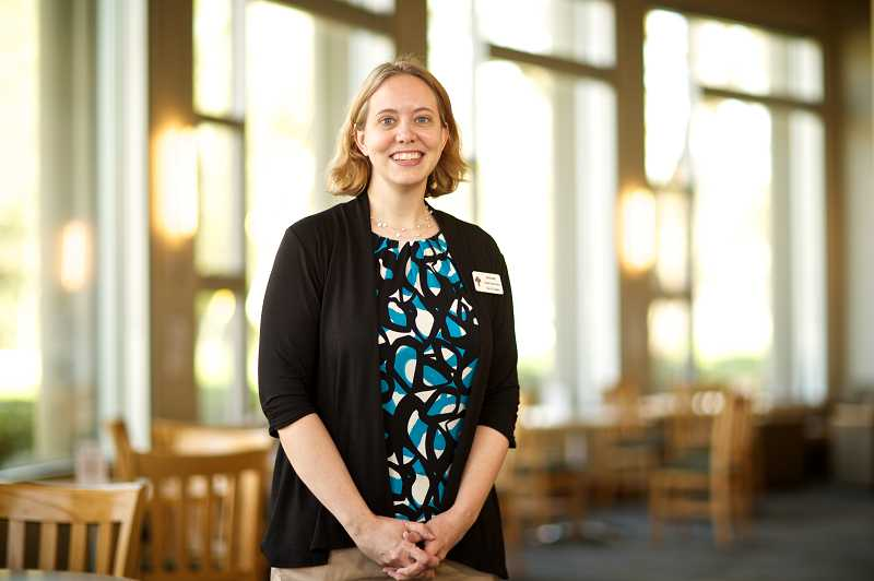 by: TIMES PHOTO: JAIME VALDEZ - Jerianne Thompson recently started her new job with Tualatin Public Library as its library manager.