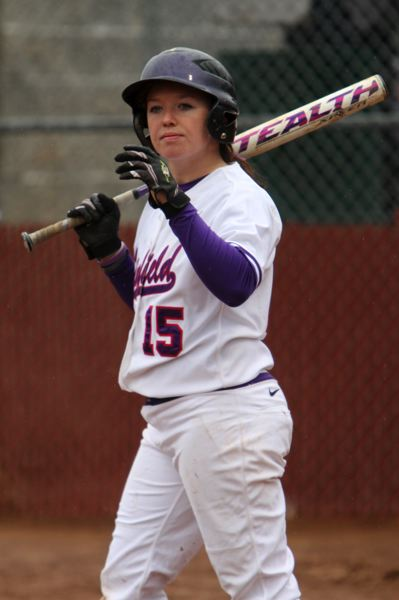 by: COURTESY PHOTO: KELLY BIRD/LINFIELD ATHLETICS - Forest Grove grad Katy Brosig is enjoying a career year for the nationally-ranked Linfield softball team with a .453 batting average.