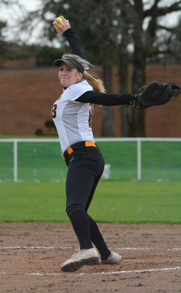 by: JOHN WILLIAM HOWARD - Junior ace Mariah Mulcahy was perfect through the first six innings until an error in the top of the seventh spoiled a perfect game and no hitter.