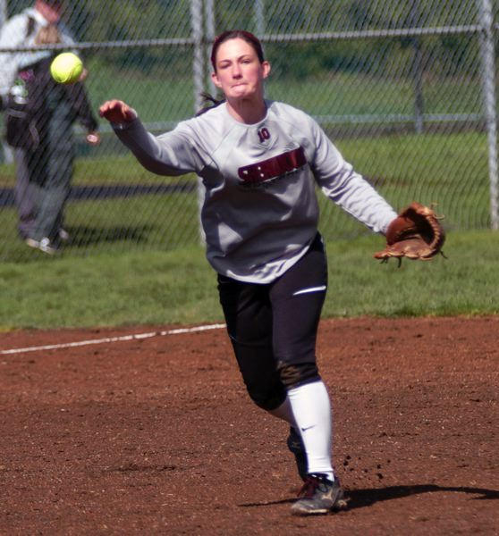 by: DAN BROOD - MAKING THE PLAYS -- Junior returnee Allie Kuntz will likely be at shortstop for the Lady Bowmen this season.