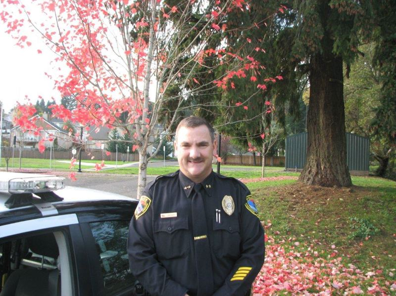 by: SPOTLIGHT FILE PHOTO - Outgoing Scappoose Police Chief Douglas Greisen.