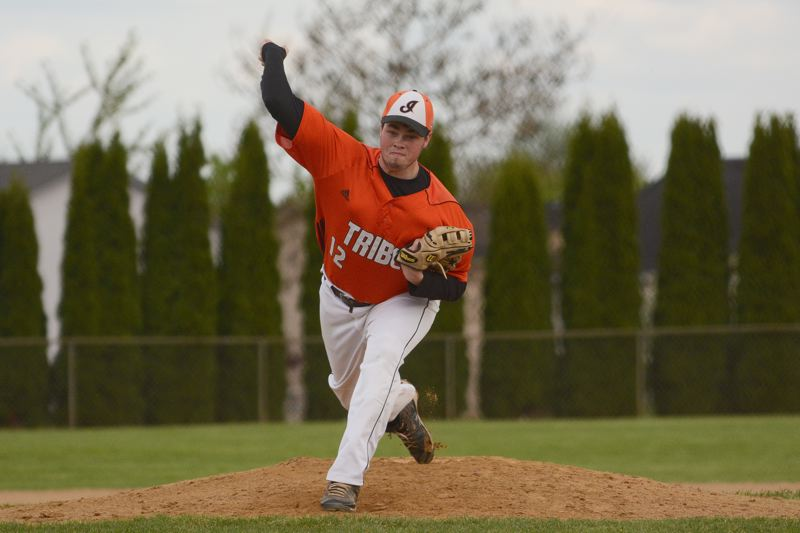 by: JOHN WILLIAM HOWARD - Senior Will Sprute pitched all seven innings on Tuesday, helping to shut out Yamhill-Carlton in the home leg of their two-game series.