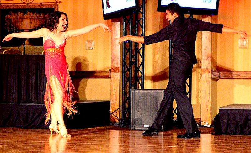 by: COURTESY OF XILIA FAYE PHOTOGRAPHY - At a 2012 fundraising event, Deborah Kafoury partnered with professional dancer Malik Delgado and wowed the crowd with an enthusiastic swing dance. Supporters say she brings the right mix of experience, leadership and character.
