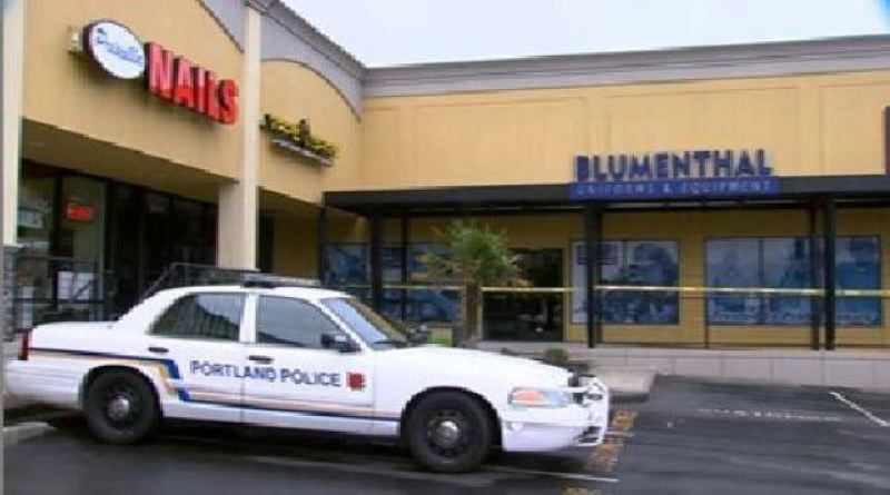 by: KOIN NEWS 6 - Shooting susoect reportedly stole body armor out of this store in Southwest Portland before shootout with police.