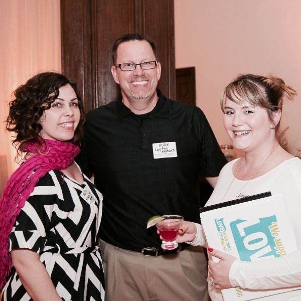 by: CONTRIBUTED PHOTO - Mike Luyten and Holly Hogan-Long of Elephants Catering & Events with Jeannine Mills, a Gresham resident with Panache Weddings & Events of Gresham.