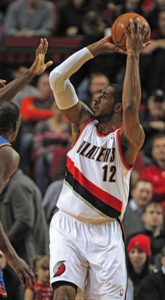 by: TRIBUNE FILE PHOTO: JAIME VALDEZ - LaMarcus Aldridge led the Trail Blazers in Game 1 versus Houston with 46 points and 18 rebounds.