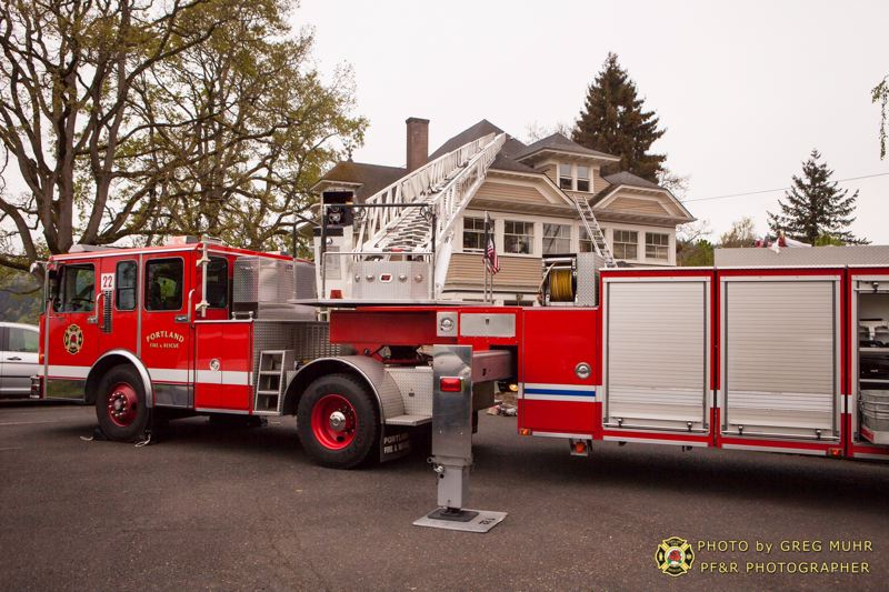 by: PORTLAND FIRE & RESCUE/GREG MUHR - The Open medows school in North Portland was damaged by fire Monday.