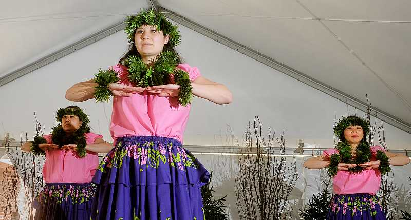 by: GARY ALLEN - Hawiian dancers were just one of the draws to the Camellia Festival in early April.