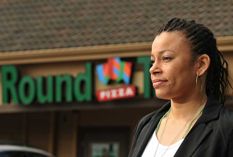 by: TIDINGS PHOTO: VERN UYETAKE - Melissa Lowery's film, Black Girl in Suburbia, sheds light on issues she faced as an African-American growing up in West Linn.