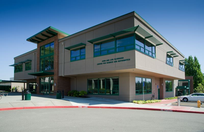 by: SUBMITTED - Jesuit High School's Elorriaga Center for Science and Mathematics was built in 2010 in pursuit of a Gold-level LEED (Leadership in Energy and Environmental Design) certification.
