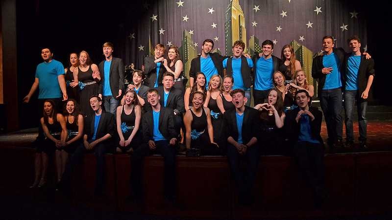 by: REVIEW PHOTO: VERN UYETAKE - Company's variety show features numbers set to pop and classic rock, and there are group and full ensemble numbers, done with musical accompaniment or a cappella.