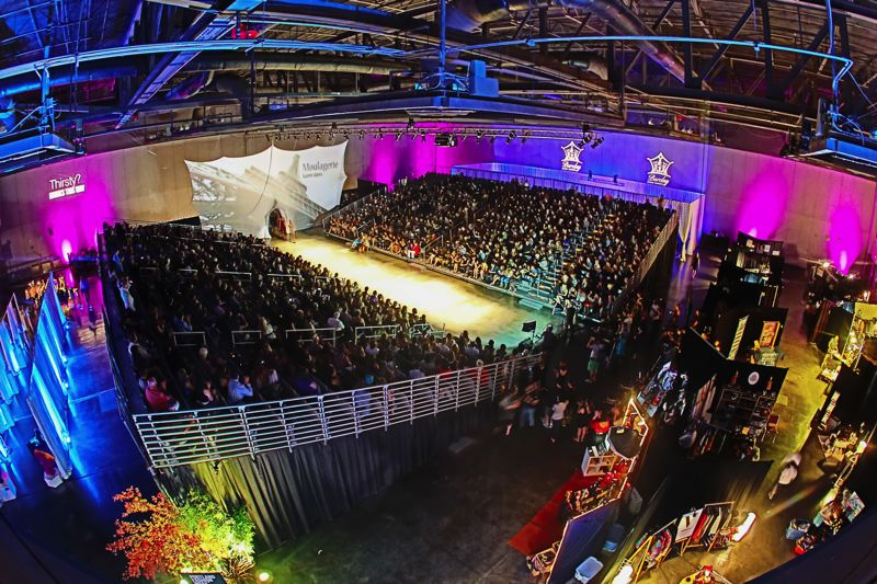 by: COURTESY OF PDXLASTNIGHT - Portland Fashion Week draws big crowds for runway shows, and features many designers from the city and their fashions. It'll be April 25 to 27 at Veterans Memorial Coliseum.