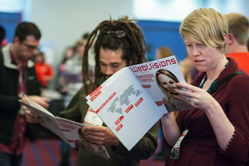 by: CONTRIBUTED PHOTO - The annual WebVisions conference is part TED talk and part hands-on hackathon.