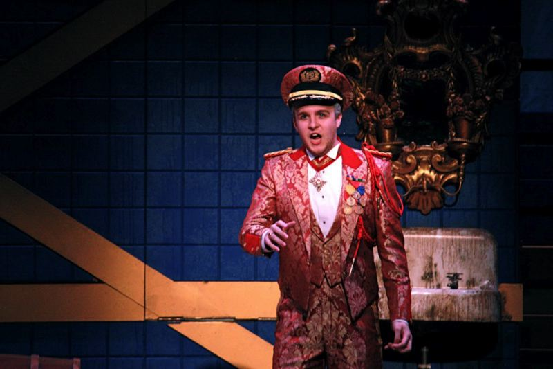 by: CONTRIBUTED PHOTO - Spencer Lang performs in Rinaldo, by G.F. Handel, with the Curtis Opera Theater.