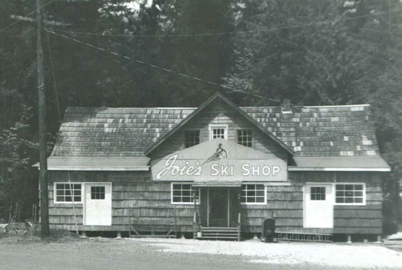 by: CONTRIBUTED PHOTO - Always a lover of skiing, Smith ran her own ski shop on the mountain for a time.
