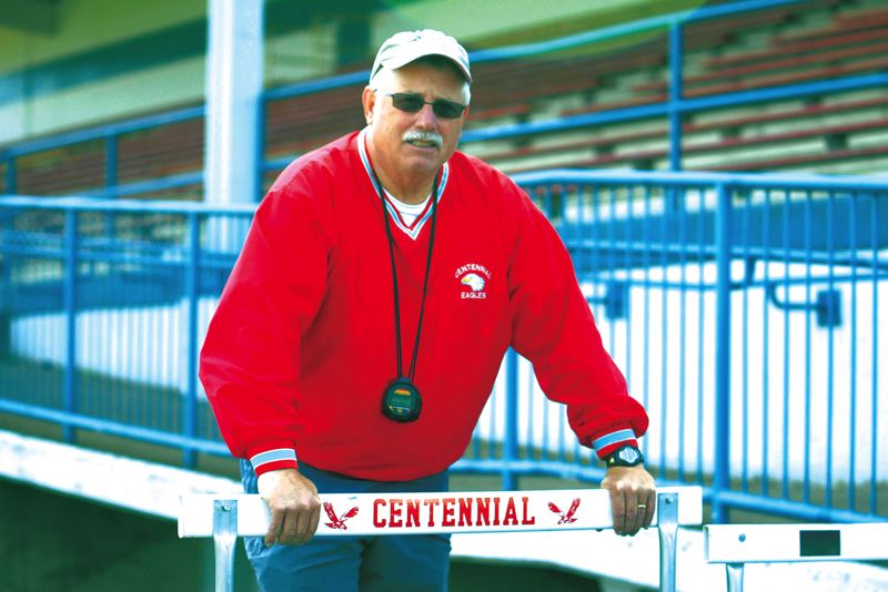 by: THE OUTLOOK: DAVID BALL - Centennial High track coach Greg Letts is taking part in his 43rd invitational, helping build it into one of the premier prep meets on the West Coast.