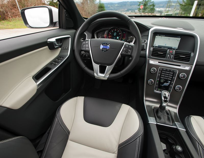 by: JOHN M. VINCENT - The interior of the 2015 Volvo XC60 is more refined, but the biggest changes are under the hood.