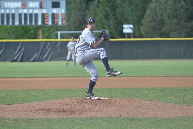 by: JEFF GOODMAN / FILE - Senior pitcher Jon Inman threw a no-hitter April 25 to carry the Canby baseball team in a 7-0 win over Lakeridge.
