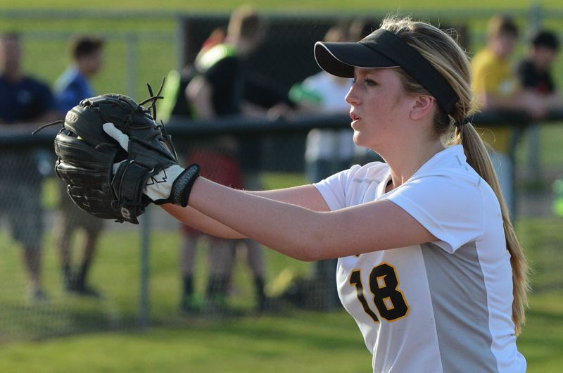 by: JOHN WILLIAM HOWARD - Junior Mariah Mulcahy pitched another gem against Rex Putnam, shutting down the Kingsmen bats in a one-hit effort.