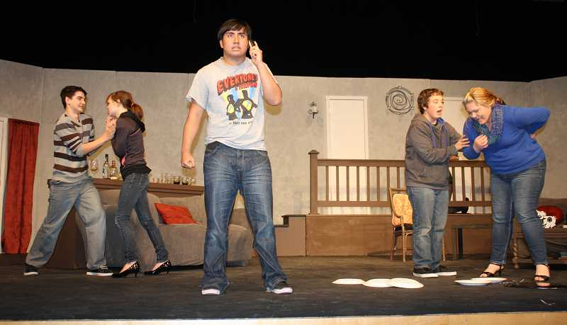 by: PEGGY SAVAGE - Dustan Ramsey, Kaila Nichols-Howell, Alarik Nordell, Jacob Norgren and Briana Raymond  