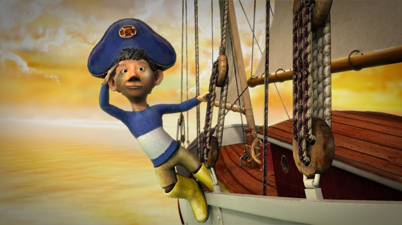 by: PHOTO COURTESY: GREG BAARTZ-BOWMAN - 'The Gallant Captain' is an animated film from Australia based on a children's book to be featured at the Milwaukie Film Festival.