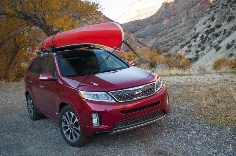 by: JOHN M. VINCENT - The family-friendly Kia Sorento.