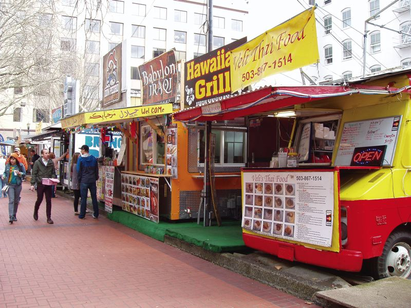 by: PHOTO COURTESY OF JOAN BROWN - Despite the ever-increasing number of food carts in Portland, success is far from guaranteed. It takes research, attention to detail, and lots of hard work.