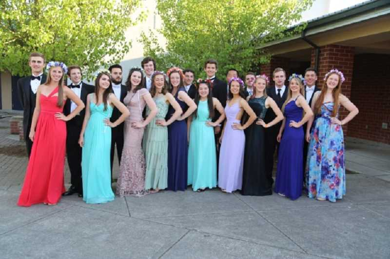 By Submitted Photo Karen Reno Lake Oswego High Schools Mayfete Court Is