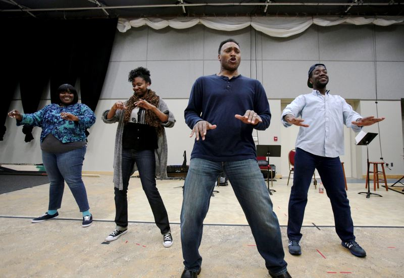 by: TRIBUNE PHOTO: JONATHAN HOUSE - Stumptown Stages newest production will be 'Ain't Misbehavin' ' at Brunish Theatre, May 9-25. Kirk Mouser promises one of the best productions of the musical in the country.