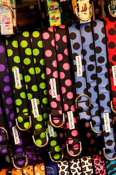 by: TRIBUNE PHOTO: JAIME VALDEZ - Smith's pet collars can be purchased at 80 stores in six U.S. states.
